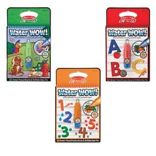 Melissa & Doug Water Wow Bundle Animals, Alphabet & Numbers|https://ak1.ostkcdn.com/images/products/10045269/P17189930.jpg?impolicy=medium