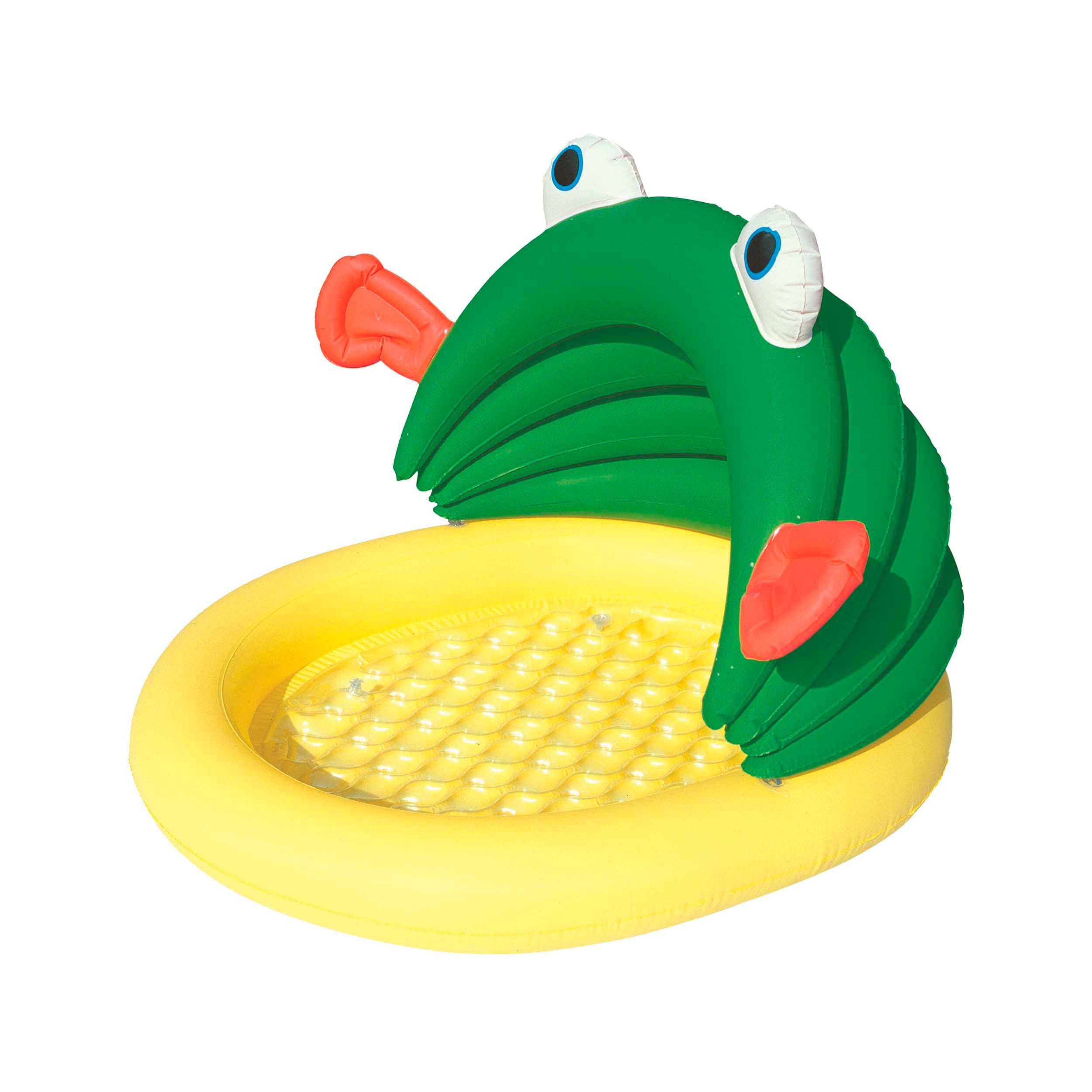 Bestway Fish and Me Kiddie Pool (1), Green