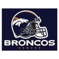 Fanmats Denver Broncos Blue Nylon Allstar Rug (2'8 x 3'8)