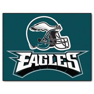 Fanmats Philadelphia Eagles Green Nylon Allstar Rug 2 8 X 3 8