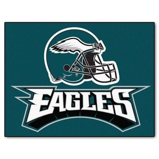 Fanmats Philadelphia Eagles Green Nylon Allstar Rug (2'8 x 3'8)