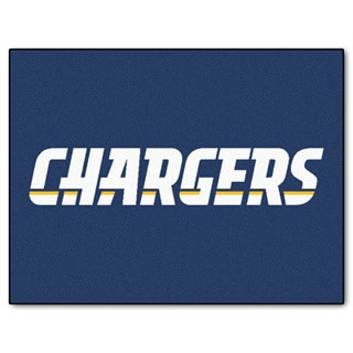 Fanmats San Diego Chargers Blue Nylon Allstar Rug (2'8 x 3'8)