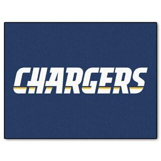 Fanmats San Diego Chargers Blue Nylon Allstar Rug (2'8 x 3'8)