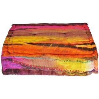 Small Tie-dye Floor Cushion (India)