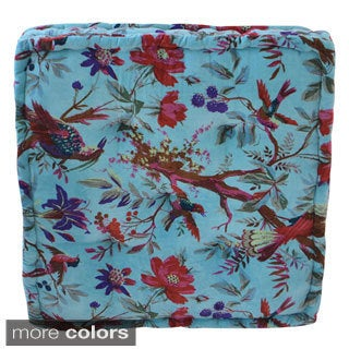 Large Velvet Floor Cushion (India)