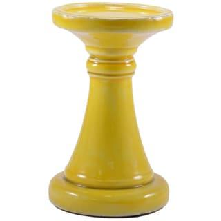Medium Ceramic Candle Pillar (India)