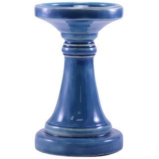 Medium Ceramic Candle Pillar (India)