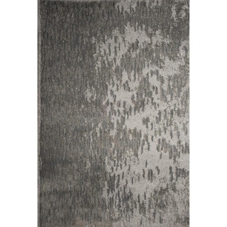Ren Wil Abstract Grey/ Silver Area Rug (5'2 x 7'2)