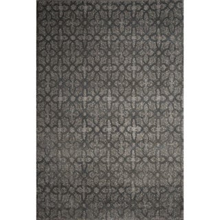Ren Wil Abstract Grey Area Rug (5'2 x 7'2)