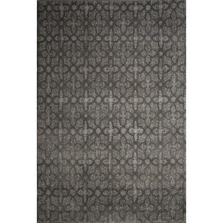 Ren Wil Abstract Grey Area Rug (7'2 x 9'2)