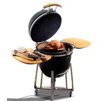 Cal Flame 21-inch Kamado Smoker Grill