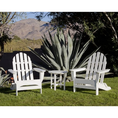 Ivy Terrace Classics 3-Piece Folding Adirondack Set