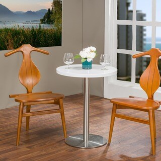 Set of 2 Granard Contemporary Wood Dining Chair