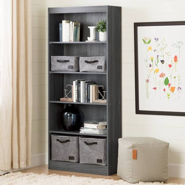 Shop South Shore Furniture Wood 5 Shelf Bookcase Free