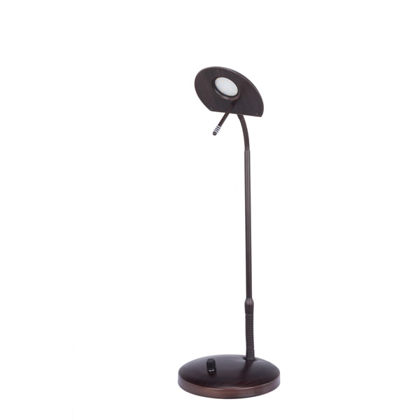 LED Metal Oil Rubbed Bronze 22-inch Table Lamp