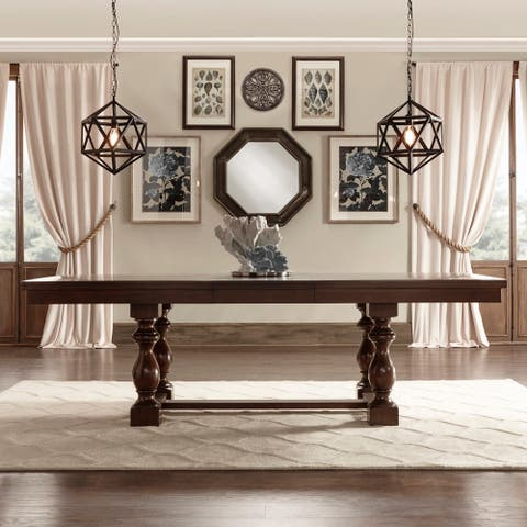 Flatiron Baluster Extending Dining Table by iNSPIRE Q Classic - Dining Table