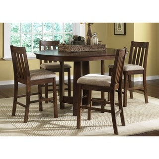Mission Dark Oak 5 Piece Pub Set