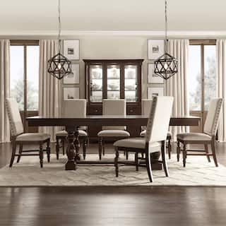 Flatiron Baluster Extending Dining Set By INSPIRE Q Classic More Options Available