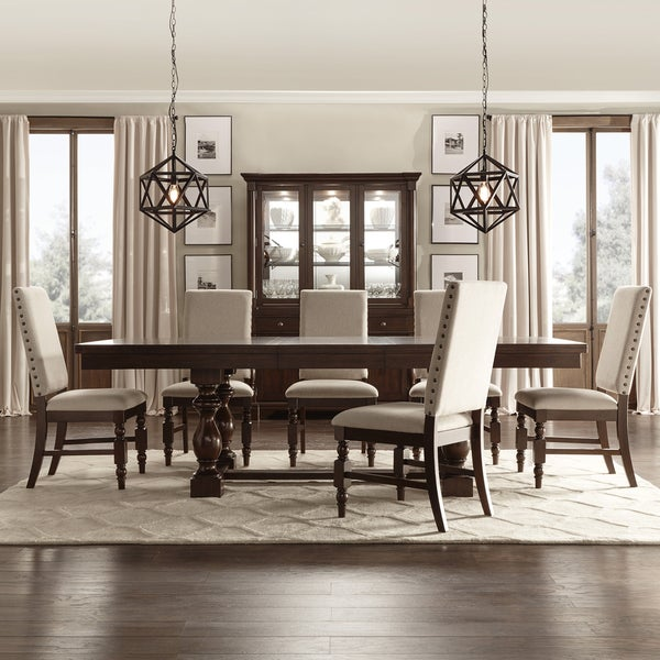 Extending Dining Room Table Alluring Flatiron Baluster Extending Dining Setinspire Q Classic  Free Design Inspiration