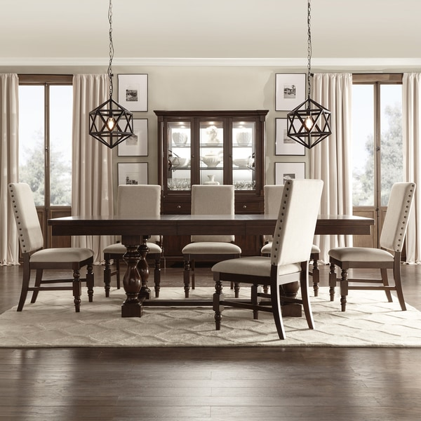 Extending Dining Room Table Awesome Flatiron Baluster Extending Dining Setinspire Q Classic  Free Decorating Design