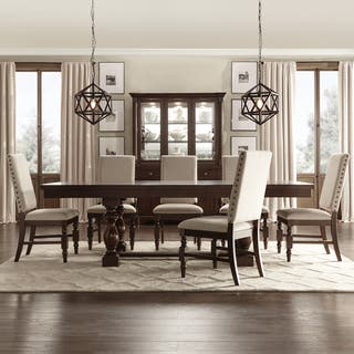 flatiron baluster extending dining set by inspire q classic - Full Dining Room Sets