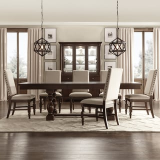 Flatiron Baluster Extending Dining Set By INSPIRE Q Classic Part 84