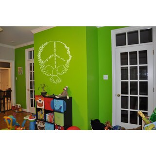 Peace Sign Sticker Vinyl Wall Art