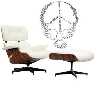 Dove Peace Sign Vinyl Wall Art