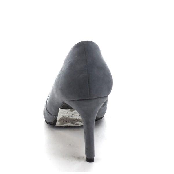 Bonnibel Womens Janelle-1 Pointy Toe Slip on Dress DOrsay Pumps