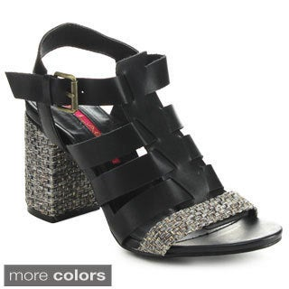 C Label Falicia-6 Women's Gladiator Ankle Strap Sandals
