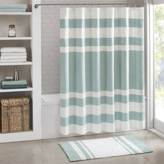 bathroom shower curtains. Clay Alder Home Niantic Shower Curtain With 3M Treatment  More Options Available Curtains For Less Overstock Vibrant Fabric Bath