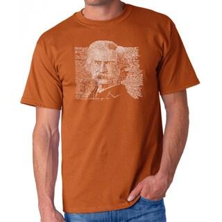 Men's Los Angeles Pop Art Mark Twain T-Shirt