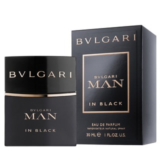Bvlgari Man in Black Men's 1-ounce Eau de Parfum Spray