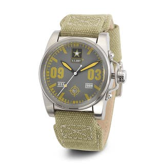 Wrist Armor Men's WA204 U.S. Army C1 Yellow Accent Green Strap Watch|https://ak1.ostkcdn.com/images/products/10046430/P17191198.jpg?impolicy=medium