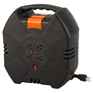 Designcord 80340 40-foot 14/3 AWG Autorewind Extension Cord Reel