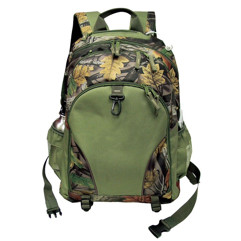GOOD HOPE BAGS Camo 15-inch Laptop/ Tablet Dual Tab Backp...
