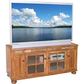 Rustic Oak Slate 46 Inch Tv Stand Amp Media Console