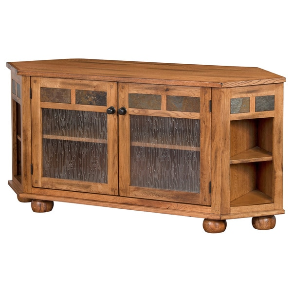 Sunny Designs Sedona Corner TV Console Free Shipping Today