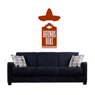 Mexico Buenos Dias Sticker Vinyl Wall Art