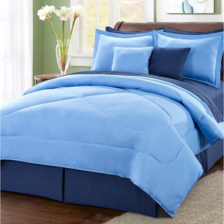 Serenta Reversible 10-piece Comforter Set