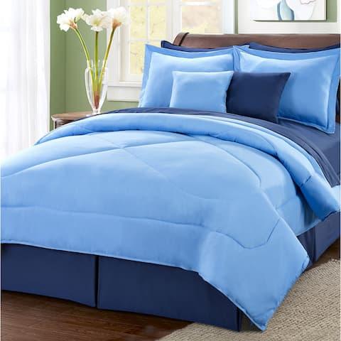 Serenta Reversible 10-piece Comforter Set