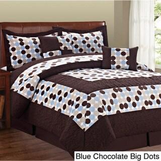 Serenta Big Dots 6-piece Comforter Set