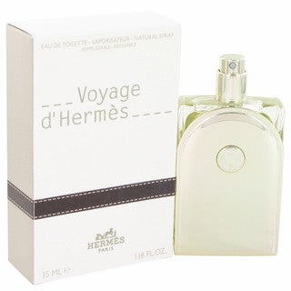 Hermes Voyage D'hermes Men's 1.18-ounce Eau de Toilette Spray