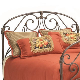 Athena Verdi Ornate Metal Headboard