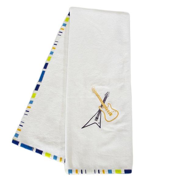 Pam Grace Creations Rockstar Cotton Bath Towels (Set of 2)