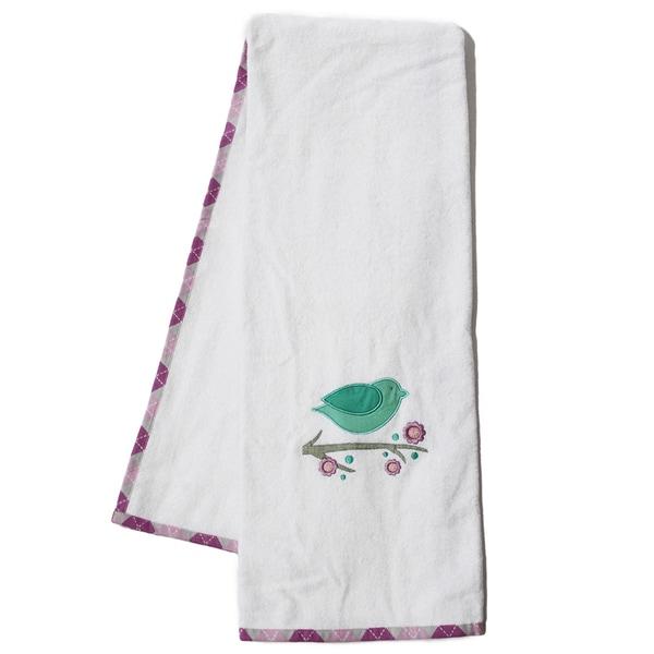 Pam Grace Creations Lovebirds Cotton Bath Towels (Set of 2)