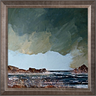 Justyna Kopania 'Sea' Waves Framed Fine Art Print
