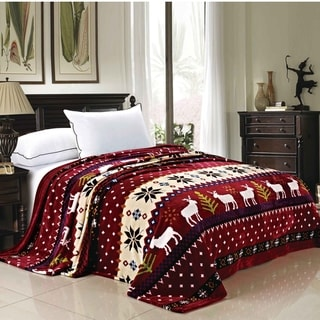 Link to Serenta Printed Christmas Flannel Fleece Blanket Similar Items in Blankets & Throws