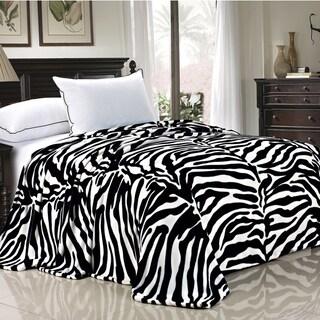 BOON Lightweight Printed Safari Animal Flannel Fleece Blanket (More options available)