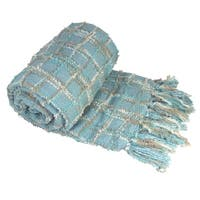 BOON Multicolor Chenille Throw Blanket